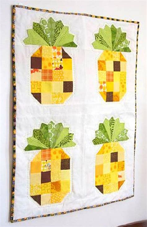 Pineapple Quilt Tutorial by Free Tutorial Pineapple Wall Hanging By Beth Novak