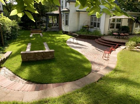 paving ideas for backyards paver design ideas hgtv