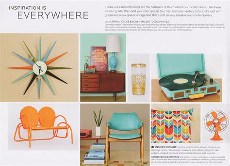 mid century modern color schemes new vintage paint color collection from sherwin williams