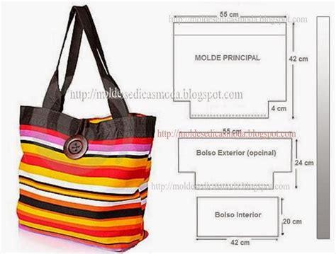 moldes bolsas tecido gratis bolsa com molde com medidas