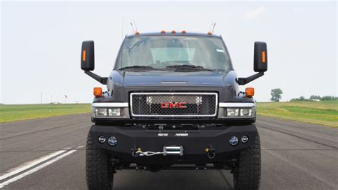 monroe truck offers production version  transformers ironhide autoblog