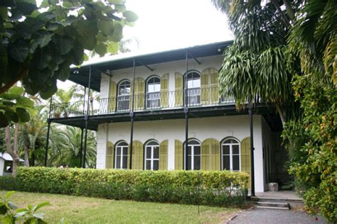 Hemingway House Key West key west haunted houses hemingway house hauntedhouses com