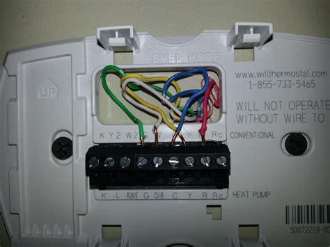 honeywell thermostat wiring diagram trane heat