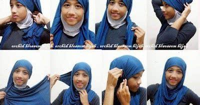 tutorial hijab ke sekolah cara memakai hijab ke sekolah tutorial hijab lengkap