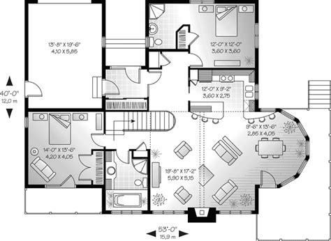 House Plans And More | gannon a frame home plan 032d 0704 house plans and more
