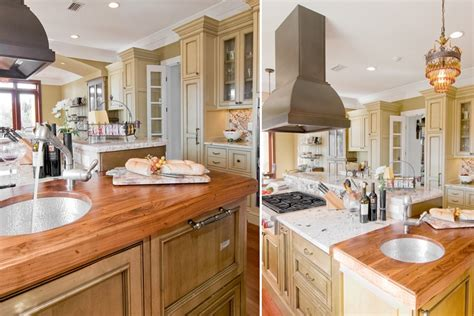 Kitchen Colors Dark Cabinets 20 examples of stylish butcher block countertops