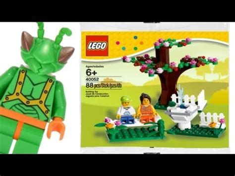 Lego Polibag 40054 Summer lego store exclusive summer poly bag with minifigure set 40054