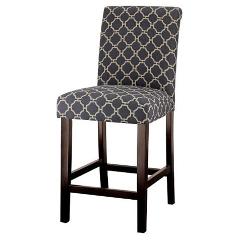 pattern fabric counter stools avington idriss 24 quot counter stool