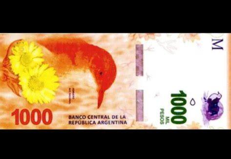 cuando se cobran los 800 pesos c 243 mo es y cu 225 ndo sale el nuevo billete de 1000 pesos