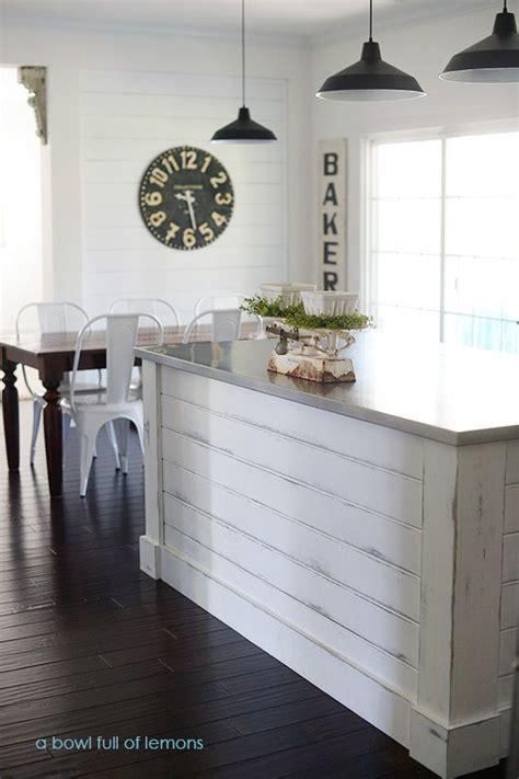 Shiplap On Kitchen Island 17 Best Ideas About Build Kitchen Island On