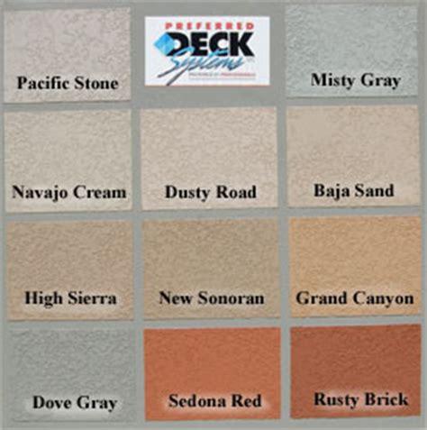 lace texture arrowhead deck  concrete