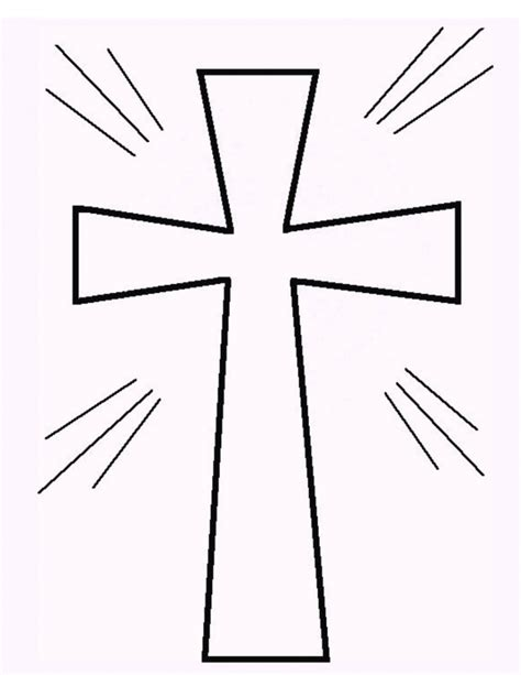 Cross Coloring Pages To Print free printable cross coloring pages what does