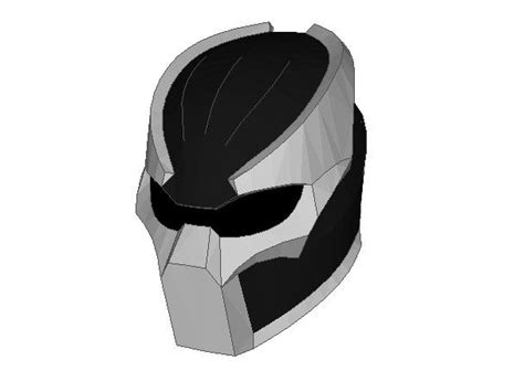 Predator Papercraft - size predator helmet papercraft free