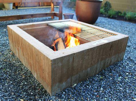 concrete firepits cinder blocks for pit pit design ideas