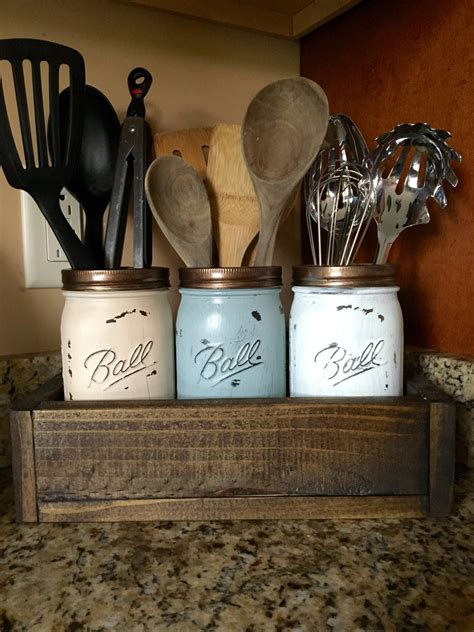kitchen utensil holder ideas jar utensil holder kitchen utensil holder kitchen
