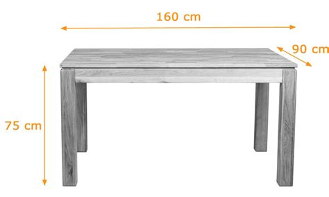 modern solid oak extending dining table 160 to 210 cm