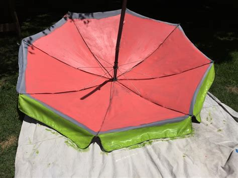 umbrella pattern inside paint a fun watermelon pattern on your outdoor umbrella