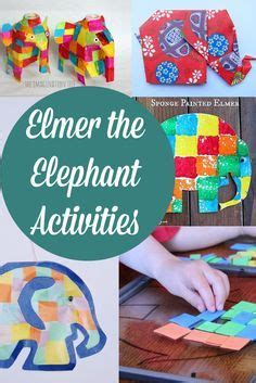 Elmer The Patchwork Elephant Story - 18 best images about elmer story book on