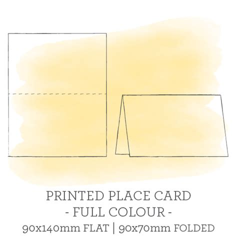 amscan imprintable place card template 28 images
