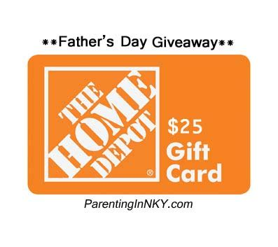 Home Depot Giveaway 2014 - the fantastic father giveaway 25 home depot gift card 4 the love of family
