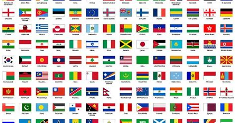 flags of the world x plane plane countries in the world the national flag and