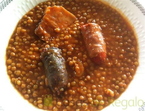 imagenes de judias blancas con chorizo c 243 mo preparar unas deliciosas lentejas con chorizo y morcilla