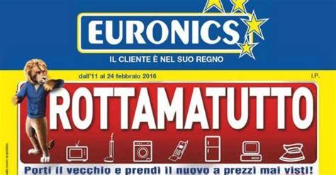 euronics banchette volantino euronics dimo febbraio 2016 ultimo nuovo