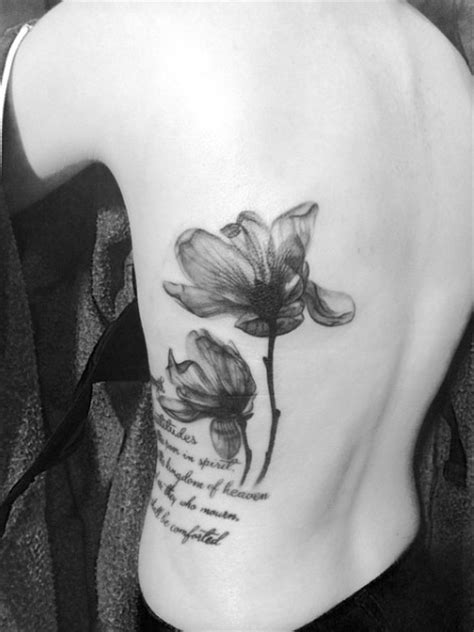 35 x ray flower tattoos that will take your breath away magnolia flower tattoo ideas archives million feed