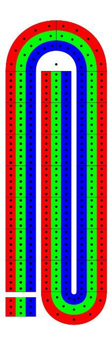 pdf printable cribbage board plans free