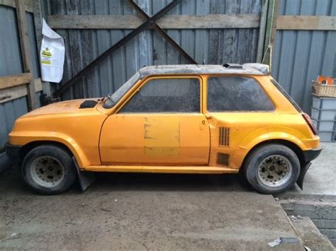 bid on this barn found renault 5 turbo and live out your