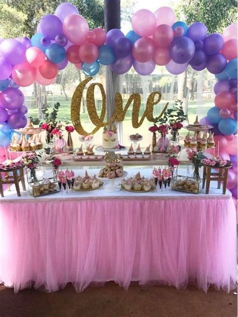 1st birthday theme decorations best 25 unicorn birthday ideas on
