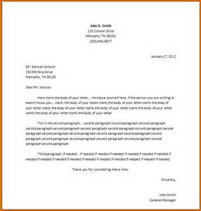 How To Write Up A Cover Letter by 13 How To Set Up A Letter Format Lease Template