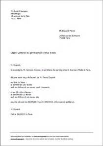Exemple De Lettre De Quittance Partielle Exemple Lettre Quittance