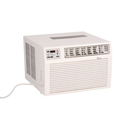 heat l home depot amana 9 000 btu r 410a window heat pump air conditioner