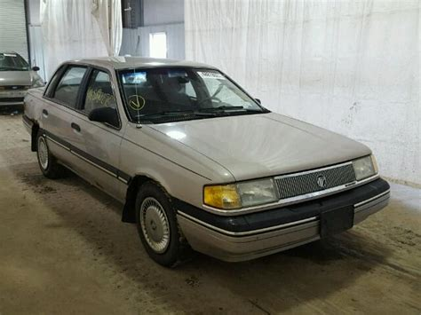 books about how cars work 1990 mercury topaz electronic toll collection auto auction ended on vin 1mepm36x3lk634175 1990 mercury topaz gs in ny syracuse