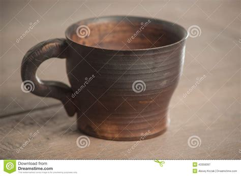 Handcrafted Tea - traditional handcrafted mug stock photo image 43358397