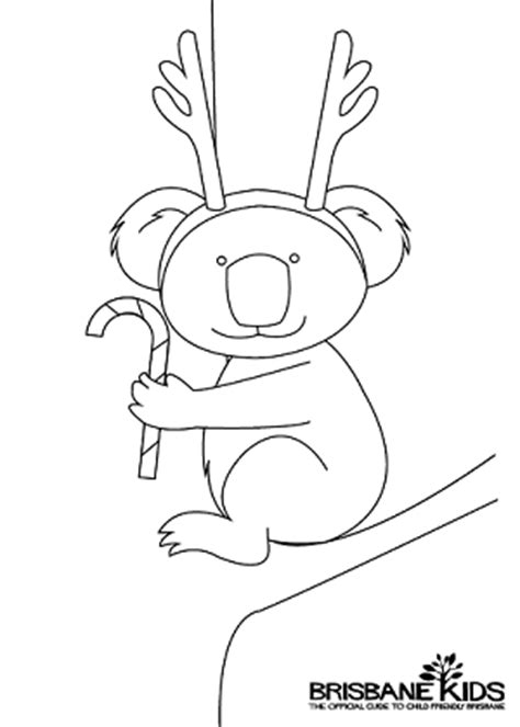 coloring pages for christmas in australia christmas colouring sheets themed with australian animals
