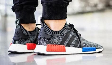 Nmd R1 Primeknit New Silhoutte Black Burgundy 100 Original Adidas complete list of adidas nmd releases colorways updated