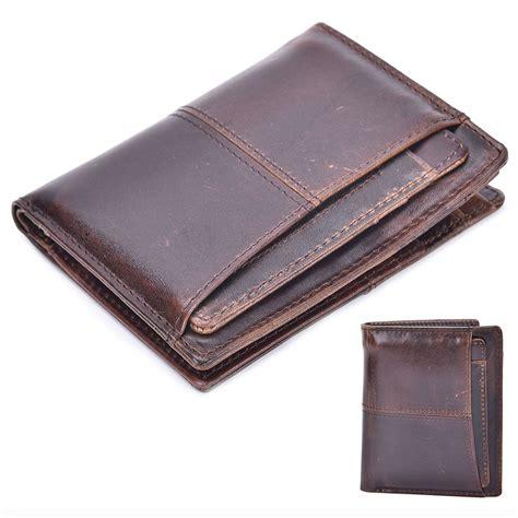 Dompet Kulit 5 1 dompet kulit pria wax cowhide leather brown