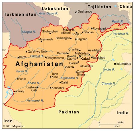 map of af afghanistan map photo