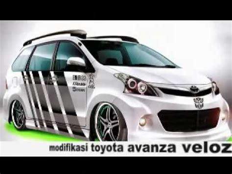 Lu Stop Avanza Veloz modifikasi toyota avanza veloz terbaru
