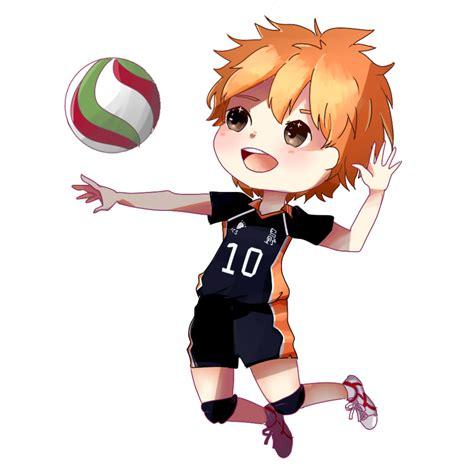 anime volleyball chibi hinata shouyou by uwachii on deviantart