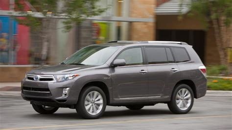 2013 toyota highlander hybrid limited review notes autoweek