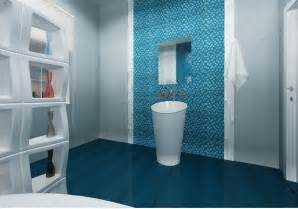 Blue Bathroom Tile Ideas by Colorful And Unique Bathroom Floor Tile Ideas Furniture