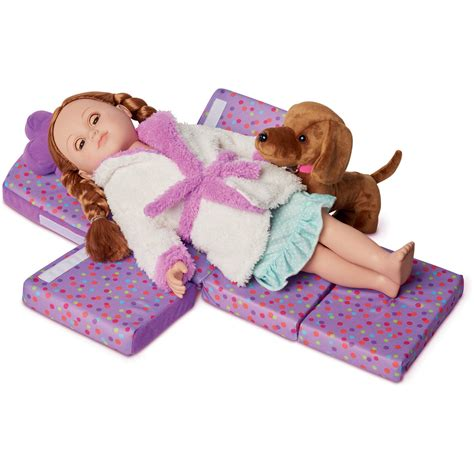 new 2016 purple 18 quot doll chair pillow set convertible sofa