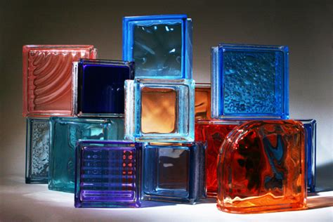 colored glass block from innovate building solutions on