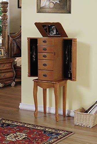 oak standing mirror jewelry armoire cute small floor standing 4 drawers flip top mirror oak