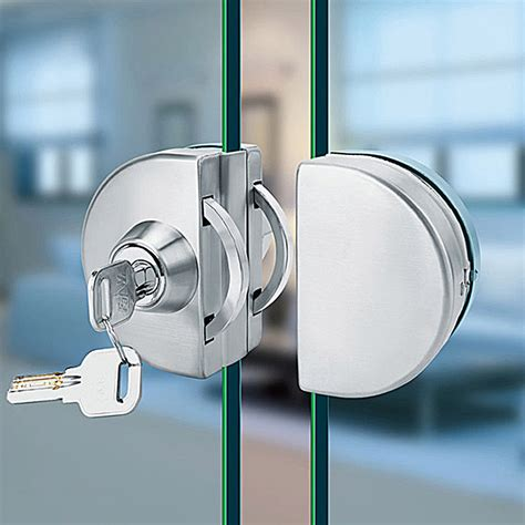 swinging glass door lock aliexpress com buy brand new stainless steel 10 12mm