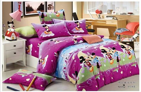 mickey and minnie bedding set black and white minnie and