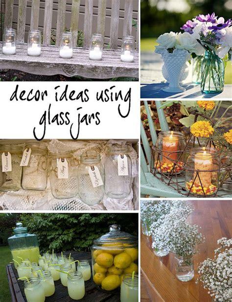 Decorating Ideas Glass Jars Glass Jar Wedding Decor Primadonna